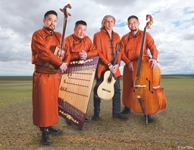 Bild: Sedaa - Mongolische & orientalische Klangwelten + support: Tschmeh