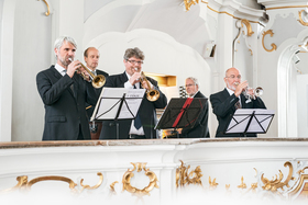 Bild: Im Glanz von Trompeten, Pauken und Orgel