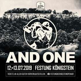 Bild: Festung Königstein Open Air 2019 - AND ONE