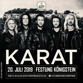 Bild: Festung Königstein Open Air 2019 - KARAT