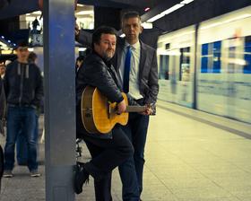 Bild: Central Park Band Duo - Simon & Garfunkel