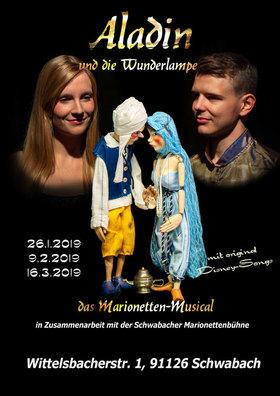 Bild: Aladin und die Wunderlampe - das Marionetten-Musical