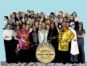 Bild: Sgt. Becker and The Lonely Hearts - The Beatles Sgt. Pepper and the lonely Hearts Club Band – Live