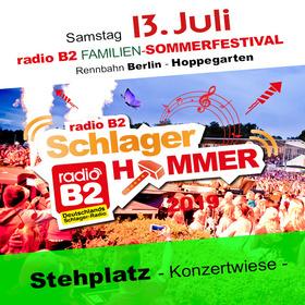 Bild: a.Kat. 1 - radio B2 SchlagerHammer - Flanier/Stehplatz 39,90€ + VVK. Geb.