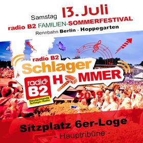 Bild: Kat. 4 - radio B2 SchlagerHammer - 6er Loge (Sitzplätze) 76,90€ + VVK. Geb.