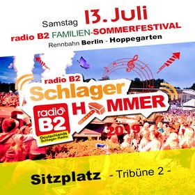 Bild: Kat. 2 - radio B2 SchlagerHammer - Tribüne II (Sitzplatz) 59,90€ + VVK. Geb.