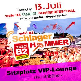 Bild: Kat. 6 - radio B2 SchlagerHammer - VIP-Lounge (Sitzplatz) 179,90€ + VVK. Geb.