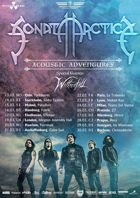 "Bild: Sonata Arctica - support: Witherfall - ""Acoustic Adventures 2019"""