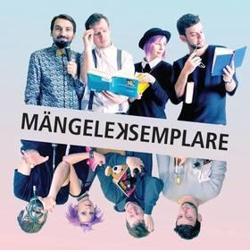 Bild: Lesebühne Mängeleksemplare - Esslingens neues, literarisches Quartett mit seinem fulminanten Auftakt im Komma!