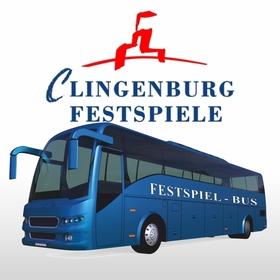 Bild: Shuttlebus für Shakespeare in Love am 03.08.2019 Linie 2 ab Frankfurt - Hin- und Rückfahrt