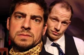 Bild: Zwei Genies am Rande des Wahnsinns (vom BAAL novo Theater Eurodistrict) - PREMIERE