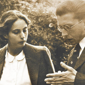 Bild: Hanne Trautwein - Hermann Lenz. Briefwechsel 1937 - 1946 - Lesung mit Rachel Salamander und Michael Krüger