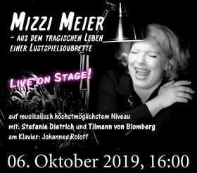 Bild: Mizzi Meier  - aus dem tragischen Leben einer Lustspielsoubrette