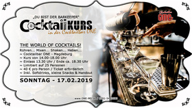 Bild: Dein Cocktailkurs im ONE - Cocktailbar ONE Magdeburg