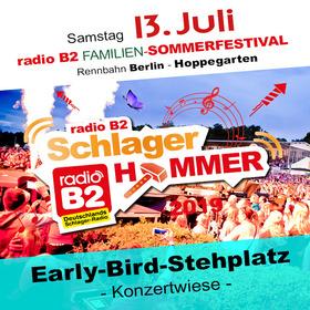 Bild: Kat. 7 - radio B2 SchlagerHammer - Early Bird (Stehplatz) 29,90€ + VVK. Geb.