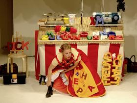 Bild: Die Händlerin der Worte und die gestohlenen Wörter - Theaterstück für Klasse 1 bis 4