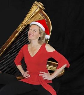 Bild: Ulla van Daelen - Christmas Harp - Christmas Special – Solo-Harp – als Gast: Andy Pilger