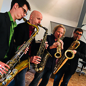 Bild: Lehel's FineFones Saxophone Quartet . feat. Jim Snidero