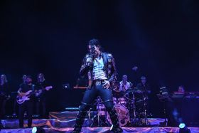 Bild: Michael Jackson Tribute Show Open Air Parkbühne Fürstenwalde