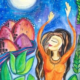 Bild: Spanische Nacht für alle Sinne - La rosa enflorese. Silvester-Gala