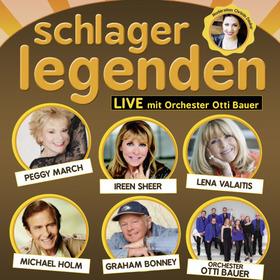 Schlagerlegenden LIVE auf Tournee - Peggy March, Lena Valaitis, Ireen Sheer, Graham Bonney, Michael Holm