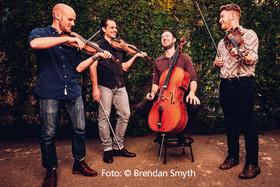 Bild: The Fretless - The Celtic String Quartett