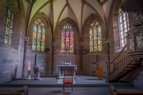 Bild: Marienkapelle und Bibliothekssaal im Kloster Hirsau