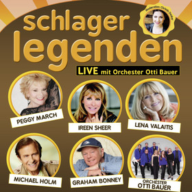 Bild: Schlagerlegenden LIVE auf Tournee - Peggy March, Lena Valaitis, Ireen Sheer, Graham Bonney, Michael Holm