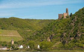 Bild: Mondlicht Burg Maus - Loreley Touristik