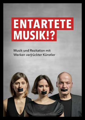 Bild: Entartete Musik – Musik und Rezitationen mit Werken verrückter Künstler