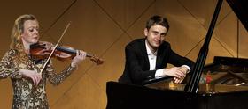 Bild: Jeanine Thorpe und Lukas Rommelspacher: Duo Recital