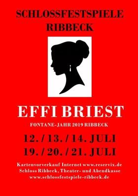 Bild: Effi Briest - Fontane-Jahr 2019 - Premiere Ribbeck