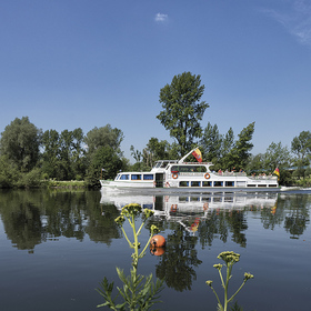 Weiße Flotte Mülheim - Wasserbahnhof