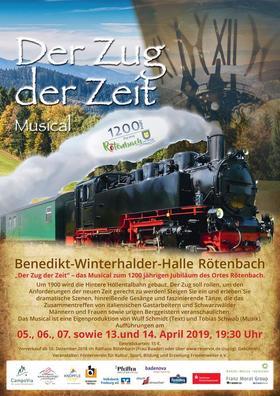 Bild: Der Zug der Zeit - Förderverein Friedenweiler