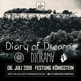 Bild: Festung Königstein Open Air 2019 - DIARY OF DREAMS & DIORAMA