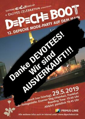 DepecheBoot - Depeche Boot XII (auf 2 Floors) + AfterBootParty
