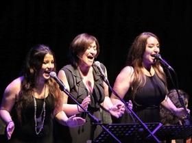 D` altro canto - Sängerinnen der letzten Tour von Pippo Pollina