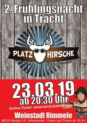 Bild: DIE PLATZHIRSCHE - 2. Frühlingsnacht in Tracht