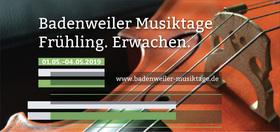 Bild: Badenweiler Musiktage 2019 - Kammerkonzert I