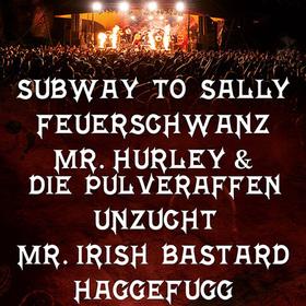 Bild: 16. Feuertal Festival - mit Subway To Sally - Feuerschwanz  - Mr. Hurley & die Pulveraffen - Unzucht - Mr. Irish Bastard - Haggefugg