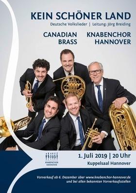 Bild: Canadian Brass & Knabenchor Hannover - Kein schöner Land - Deutsche Volkslieder