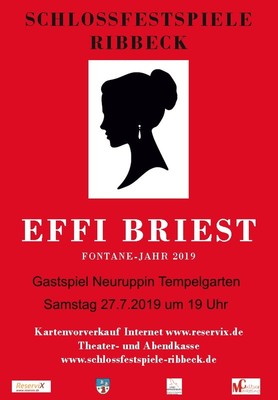 Bild: Effi Briest - Fontane-Jahr 2019 - Neuruppin