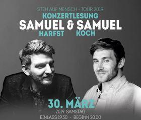 Bild: Steh auf Mensch - Tour 2019 - Samuel Koch & Samuel Harfst