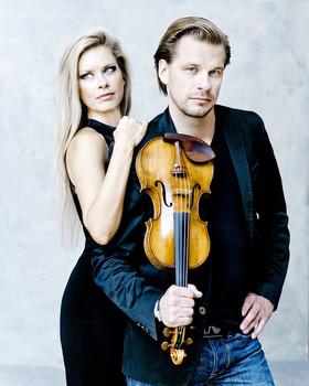 Bild: Binger Meisterkonzerte 2019: Kirill Troussov & Alexandra Troussova