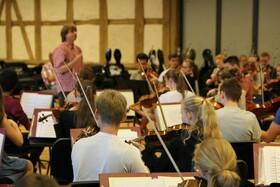 Bild: Öffentliche Generalprobe der Deutschen Streicherphilharmonie