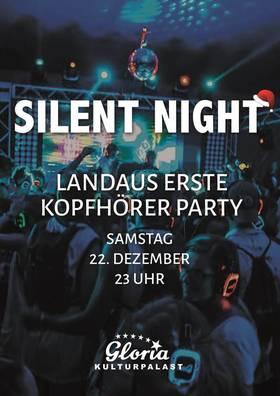 Bild: Erste Landauer Kopfhörerparty - Stille Nacht - .                            - Viel Spaß wünscht die Sparkasse SÜW