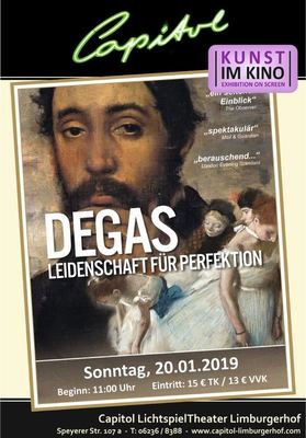 Bild: Degas - Leidenschaft für Perfektion
