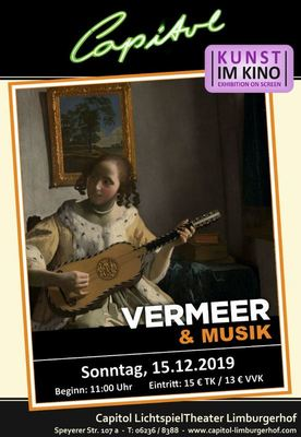 Bild: Vermeer und Musik - Kunst im Kino