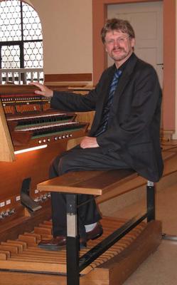 Bild: Stephan Kirsch, Posaune und Michael A. Müller, Orgel