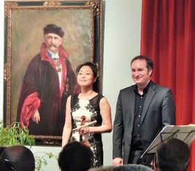 Bild: Bad Saarower Kammermusikkonzerte mit Christian Seibert (Klavier) und Jung Won Seibert-Oh(Violine)